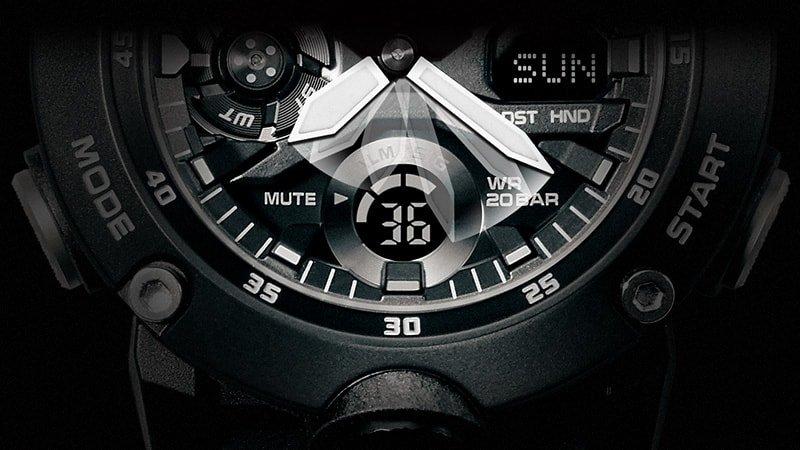 Zegarek G-Shock GA-2000 z niezawodnym mechanizmem oraz nowoczesnym designem.