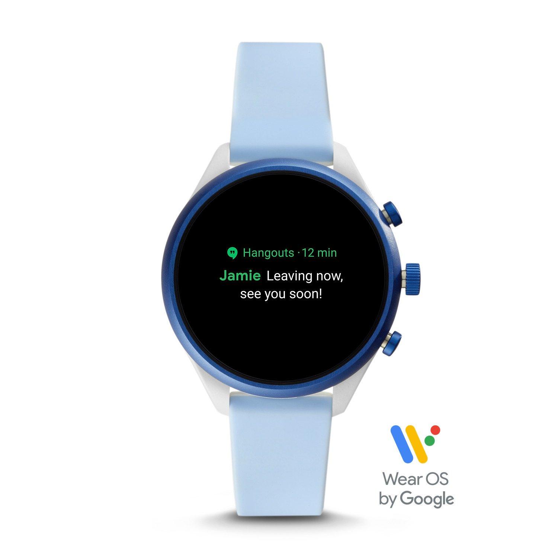 Smartwatch marki Fossil posiada również mozliwość sprawdzania komunikatów takich jak połączenia czy wiadomości.
