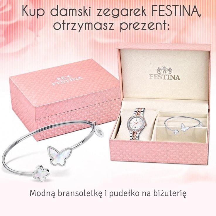 Gratis do damskiego zegarka Festina