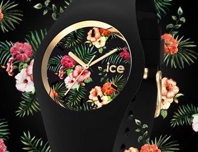 Zegarki z kwiatowej kolekcji ICE Flower - zdjęcie