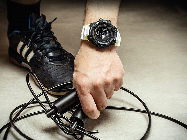 Casio G-SHOCK GBD-H1000-1A7ER G-SQUAD Heart Rate Monitor Bluetooth