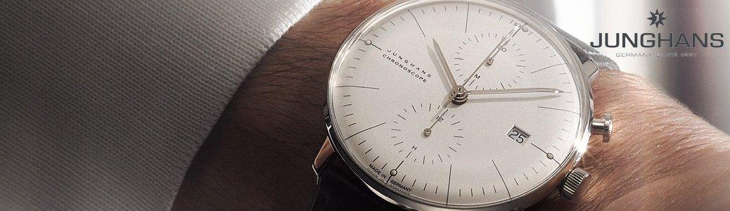Minimalistyczny zegarek Junghans