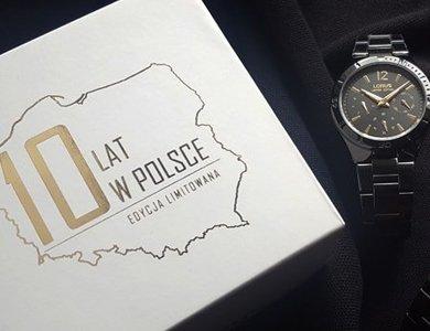 Zegarki Lorus świetują urodziny na polskim rynku - zdjęcie