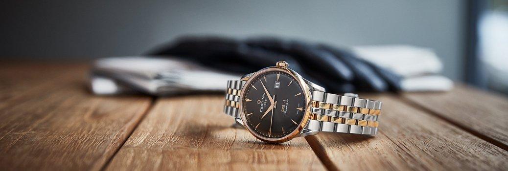 Elegancki, męski zegarek Certina