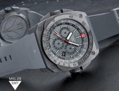 Przełam bariery z zegarkiem MIG-29 SMT od marki Aviator ! - zdjęcie