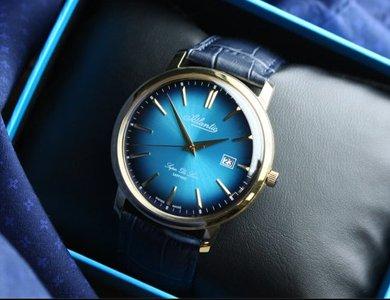 Jaki zegarek dla taty? Poznaj serię Atlantic Super De Luxe. - zdjęcie