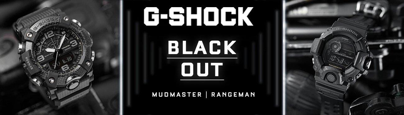 Nowe modele G-SHOCK Black Out