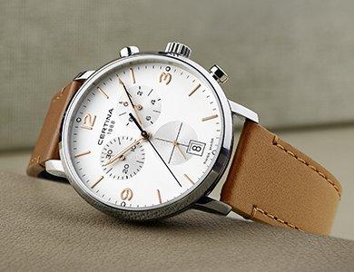 Certina DS Caimano Chronograph - nowe spojrzenie na klasyczną kolekcję - zdjęcie