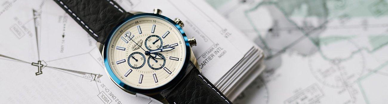 Adriatica Aviation - szwajcarskie zegarki typu pilot