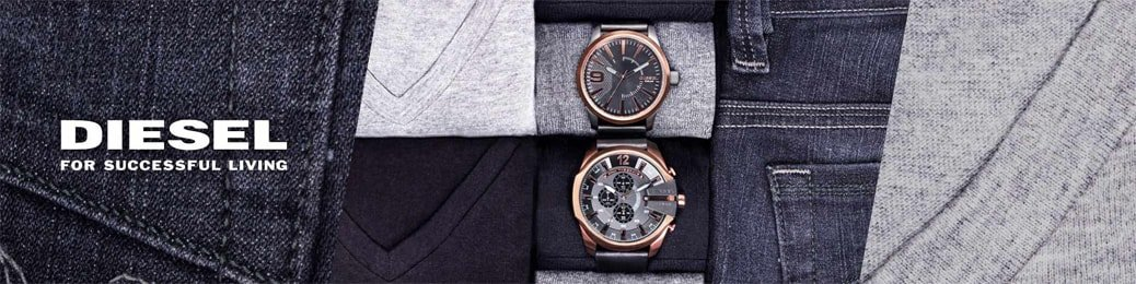 Męskie zegarki Diesel