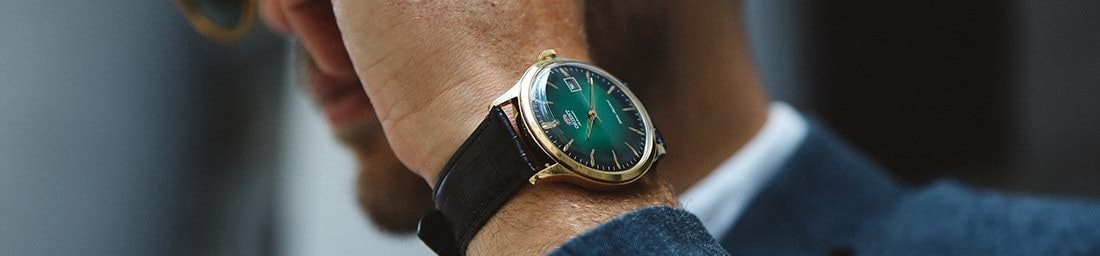 Japońskie zegarki Orient.