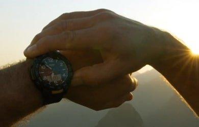 Outdoorowy zegarek Casio ProTrek PRT-B50 - zdjęcie