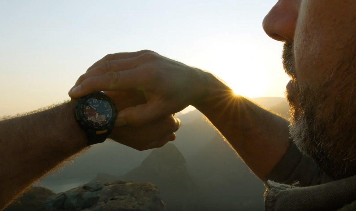 Męski zegarek Casio Pro Trek idealny dla osób kochających podróżować.