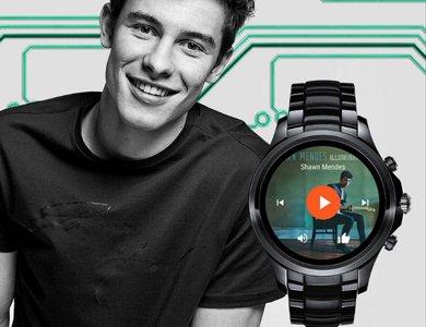 Shawn Mendes twarzą smartwatchy Armani Connected - zdjęcie