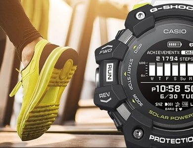 Pierwszy smartwatch od G-SHOCK! Premiera: G-SQUAD GBD-H1000 - zdjęcie