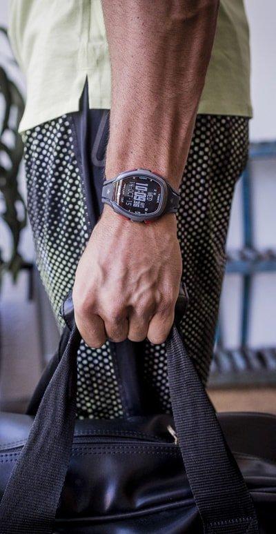Sportowy zegarek do biegania Timex.