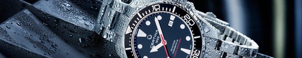 Szwajcarskie zegarki Certina