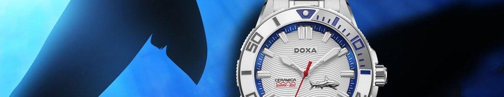 Zobacz zegarki Doxa Shark Ceramika 300 m
