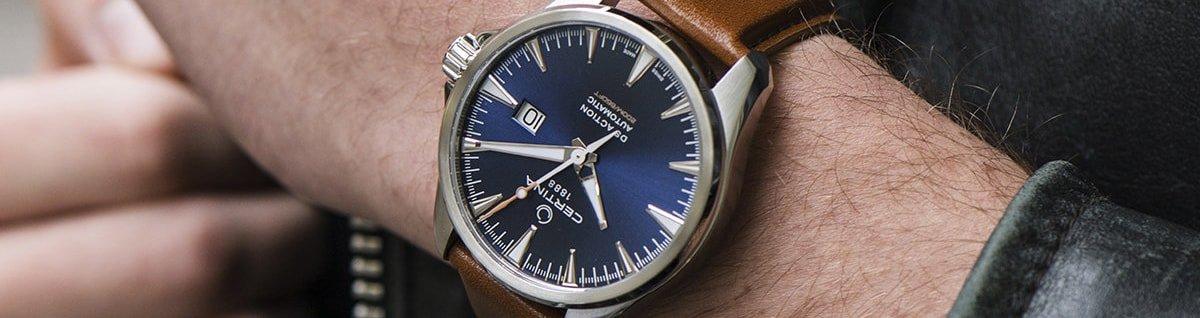Męski zegarek Certina