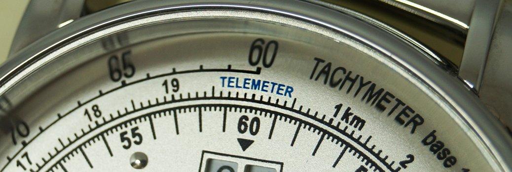 Zegarek Zeppelin  z funkcją telemetru pozwalająca na określenie odległości obserwatora od wyładowań atmosferycznych.