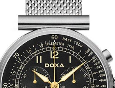 Doxa Telemeter - nietypowy zegarek męski - zdjęcie