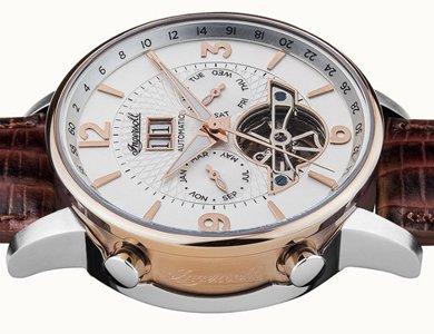 Wyjątkowy męski zegarek od marki Ingersoll - zdjęcie