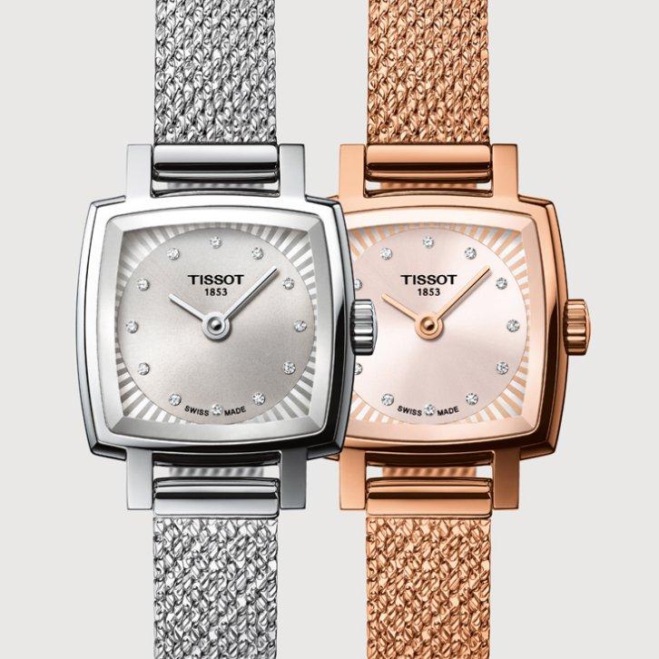 Zegarki damskie z kolekcji Tissot Lovely Square