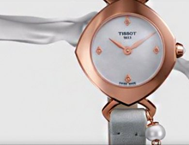 Tissot Femini-T Diamonds - wyjątkowe zegarki dla kobiet - zdjęcie