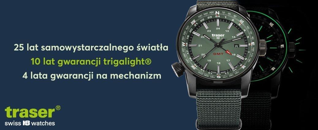 Taktyczne zegarki marki Traser