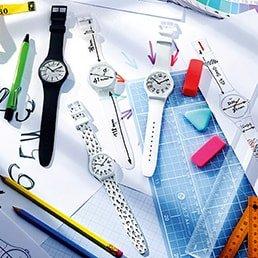 Kolekcja zegarków Swatch dedykowana dla dzieci.