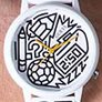 Oryginalne zegarki Guess Originals z grafiką Timothy Goodmana - zdjęcie