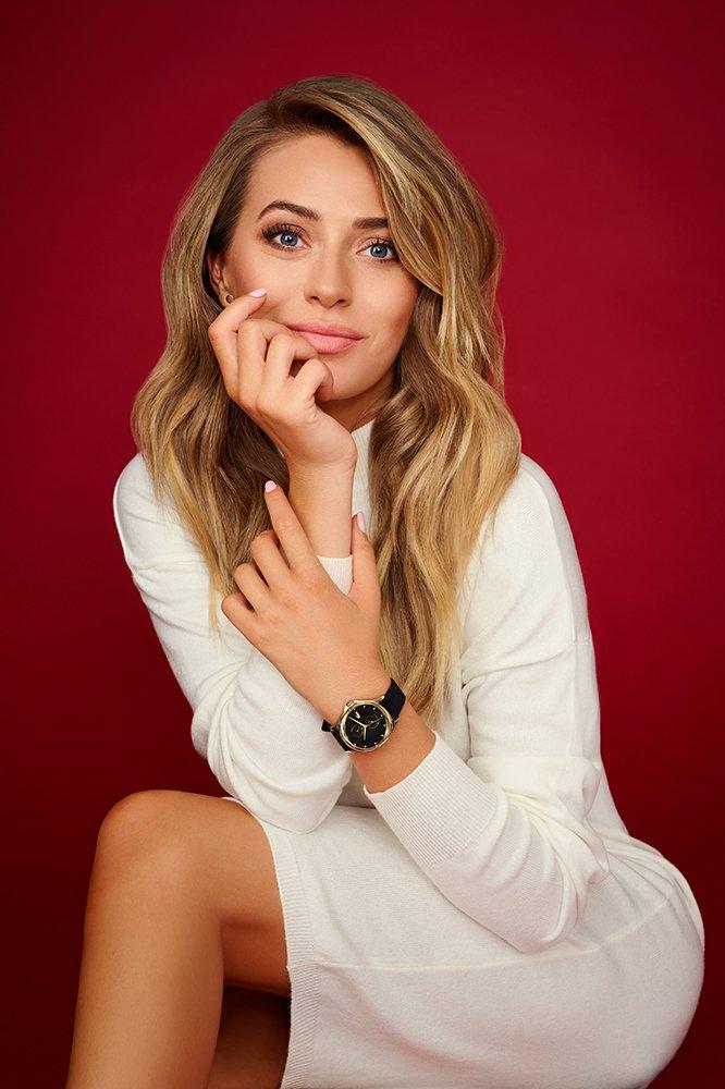 Marcelina Zawadzka promująca serię zegarków Lacoste Kea.