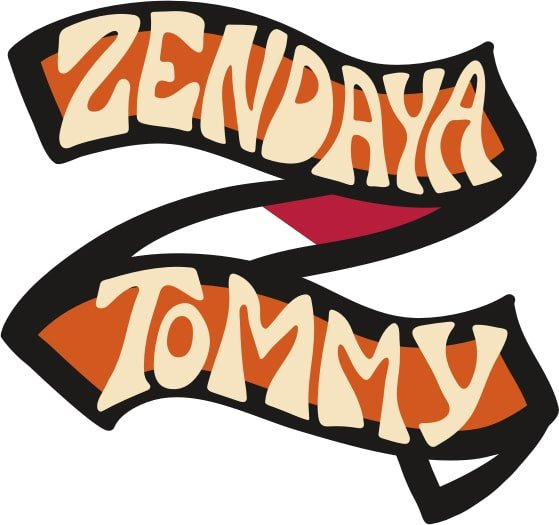 Logotyp zaprojektowany specjalnie dla kolekcji Tommy Hilfiger X Zendaya.
