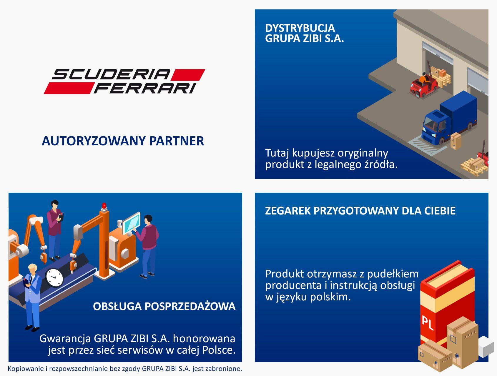 Autoryzowany Partner Scuderia Ferrari