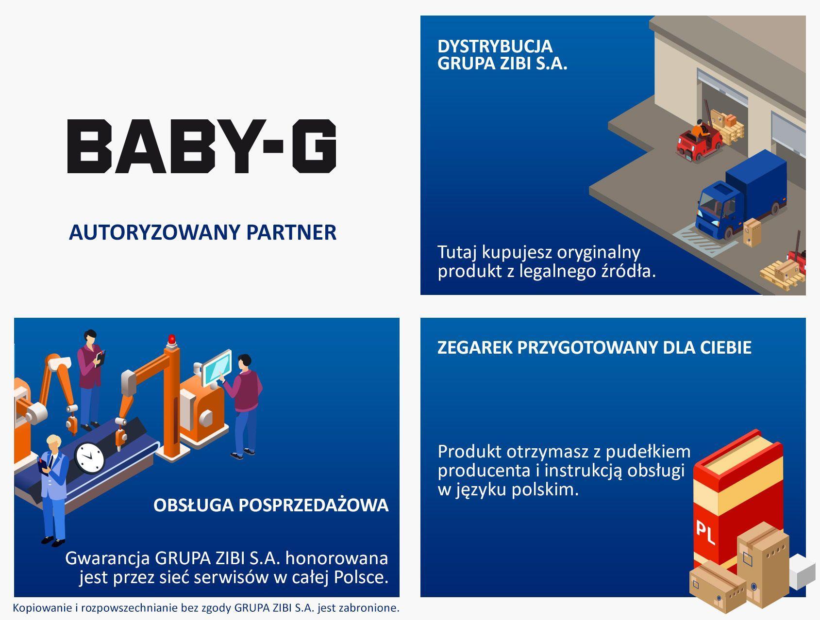Autoryzowany Sprzedawca Casio Baby-G