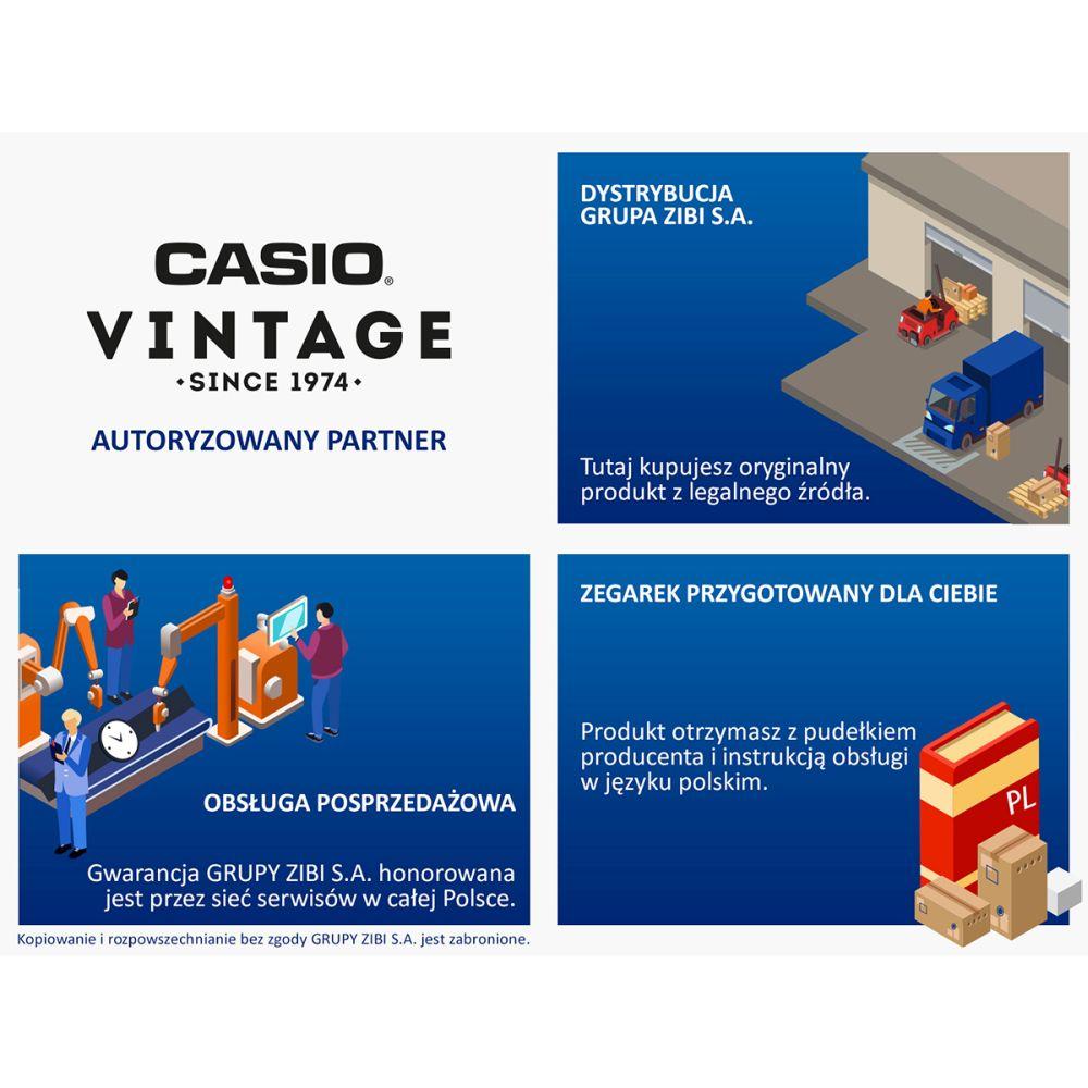 Autoryzowany Sprzedawca Casio Vintage