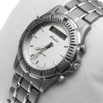 Zegarek męski Adriatica tytanowe A1056.4113 - duże 4