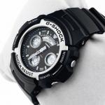 Zegarek męski Casio g-shock original AW-590-1AER - duże 3