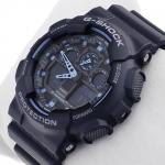 Zegarek męski Casio g-shock original GA-100-1A2ER - duże 2