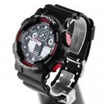 Zegarek męski Casio g-shock original GA-100-1A4ER - duże 4