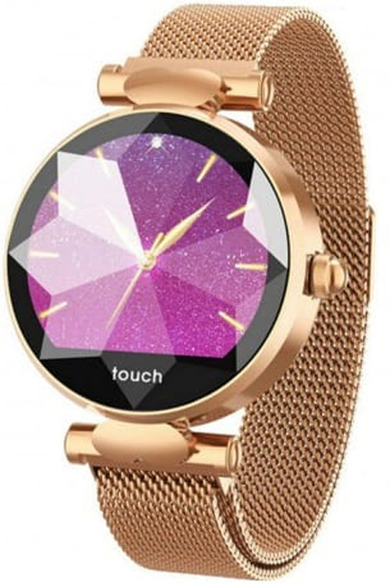 Garett 5903246282832 Damskie Smartwatch Garett Women Lisa złoty stalowy