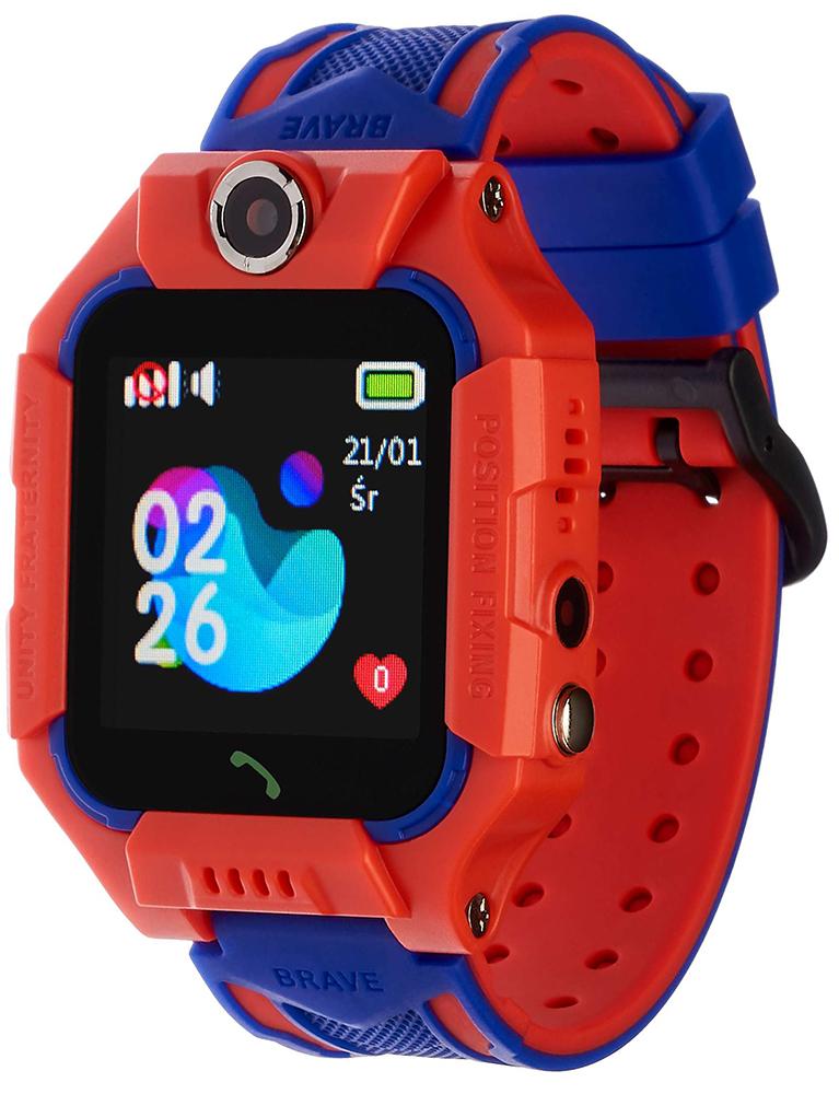 Garett 5903246284591 Dla dzieci Smartwatch Garett Kids Play Czerwony