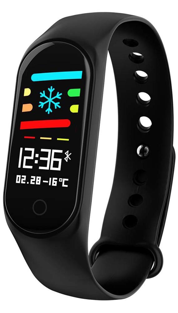Garett 5903246286663 Smartbandy - Opaski sportowe Smartband Opaska Sportowa Garett Fit 7 Plus RT czarny