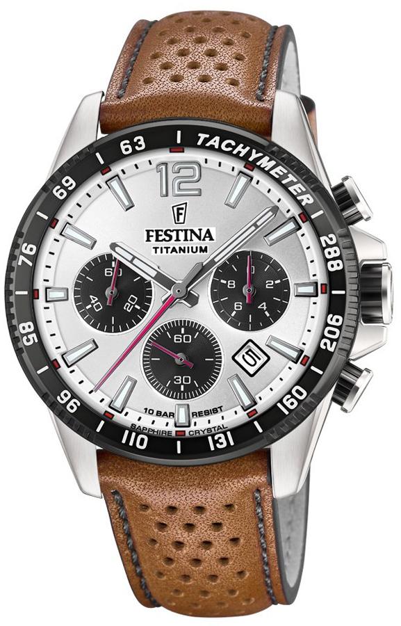 Festina F20521-1 Titanium Titanium Sport Chrono Sapphire
