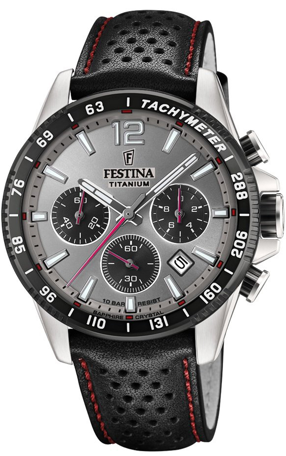 Festina F20521-3 Titanium Titanium Sport Chrono Sapphire