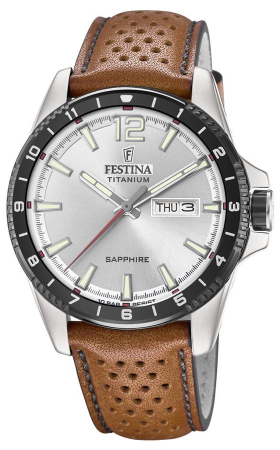 Festina F20530-1 Titanium Titanium Sport Sapphire