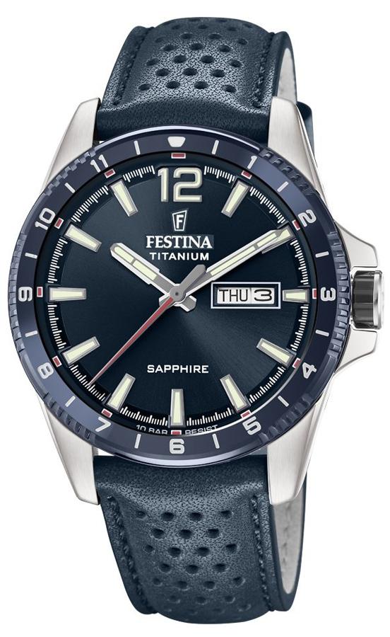 Festina F20530-2 Titanium Titanium Sport Sapphire