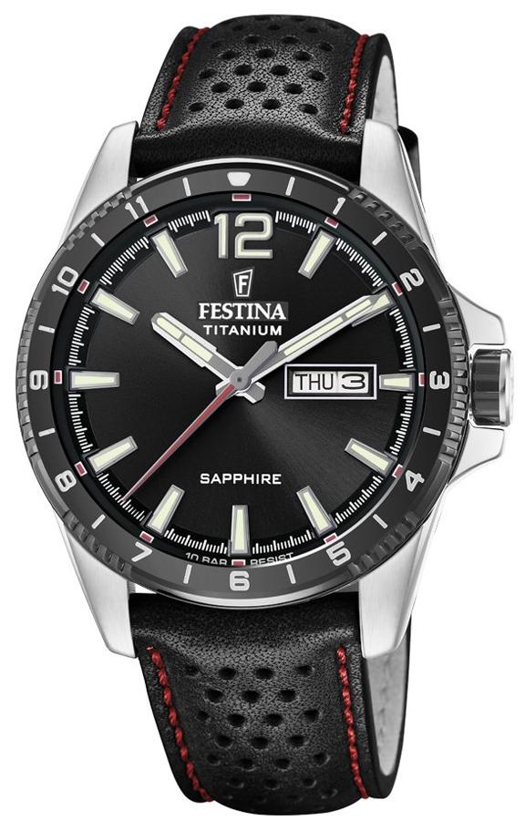 Festina F20530-4 Titanium Titanium Sport Sapphire