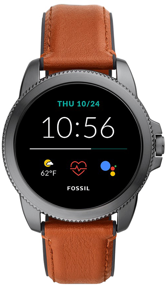 Fossil Smartwatch FTW4055 Fossil Q GEN 5E SMARTWATCH - BROWN LEATHER