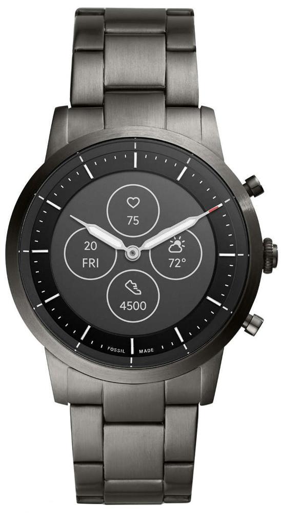 Fossil FTW7009 Hybrid Smartwatch  Hybrid Smartwatch HR Collider Smoke Stainless Steel